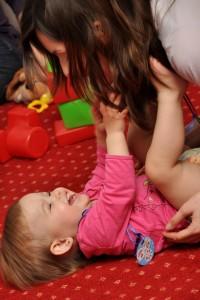 Первые трудности молодых родителей