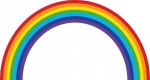 Связь детей с цветами радуги